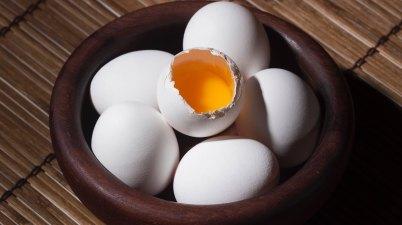 huevo, proteína, cesta, comida, alimento